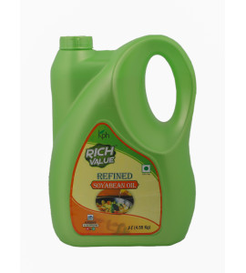 Rich Value Refined Soyabean Oil 5 Ltr