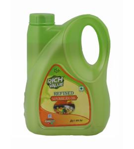 Rich Value Refined Soyabean Oil 2 Ltr