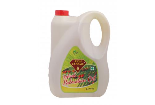 Rich Classic Refined Palm Oil 5 Ltr Jar