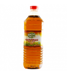 Mustard Kachi Ghani Oil 500 ML Bottle